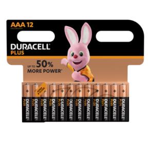Duracell Plus(Power) AAA - 12er Pack Batterien