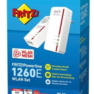 FRITZ! Powerline 1260E WLAN SET inkl. Steckdose AA27756